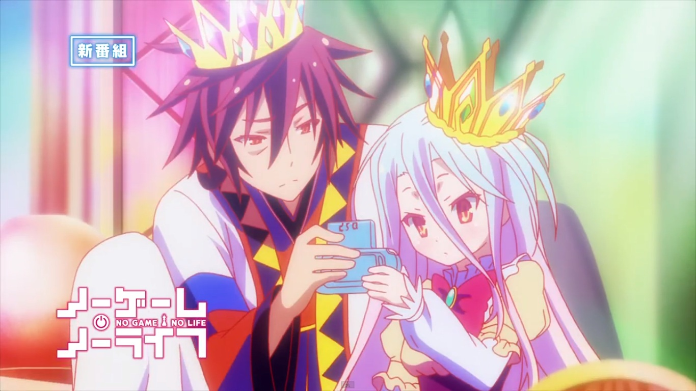 No Game no Life Anime 2014 Picture Wallpaper 1366x768