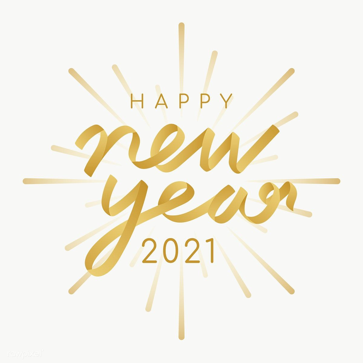 Happy New Year 2021 transparent png image by rawpixelcom 1200x1200