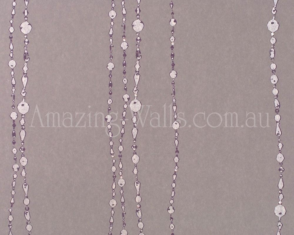 Diamonds Pearls Swarovski crystals necklace brown beige no2990 1000x800