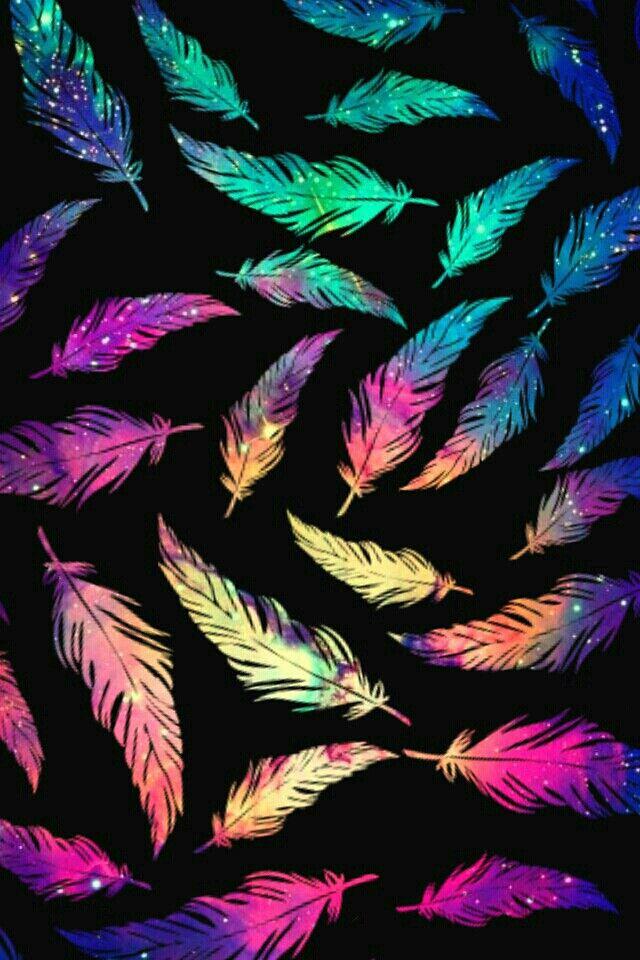 Pin by Paula Vivar on Fondos Feather wallpaper Screen wallpaper 640x960