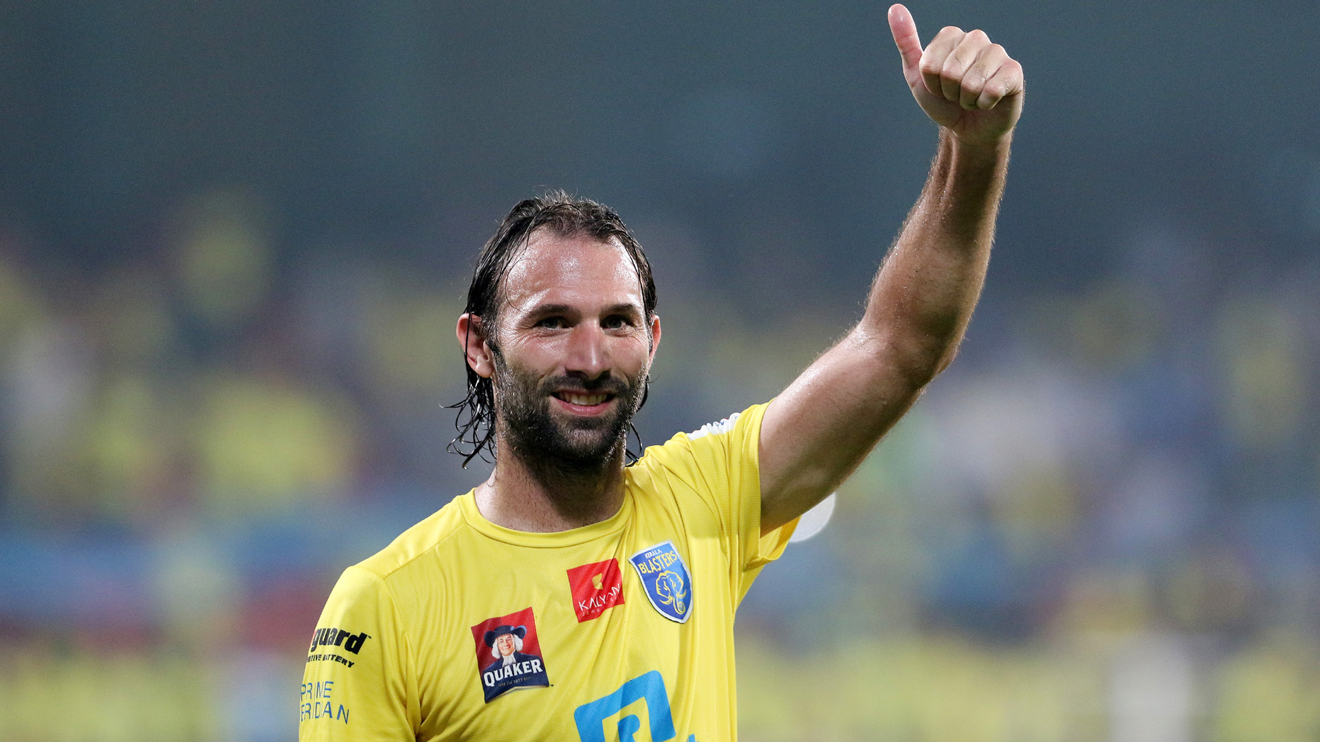 The Wall At The Back For Kerala Blasters The Ageless   Cedric 1920x1080