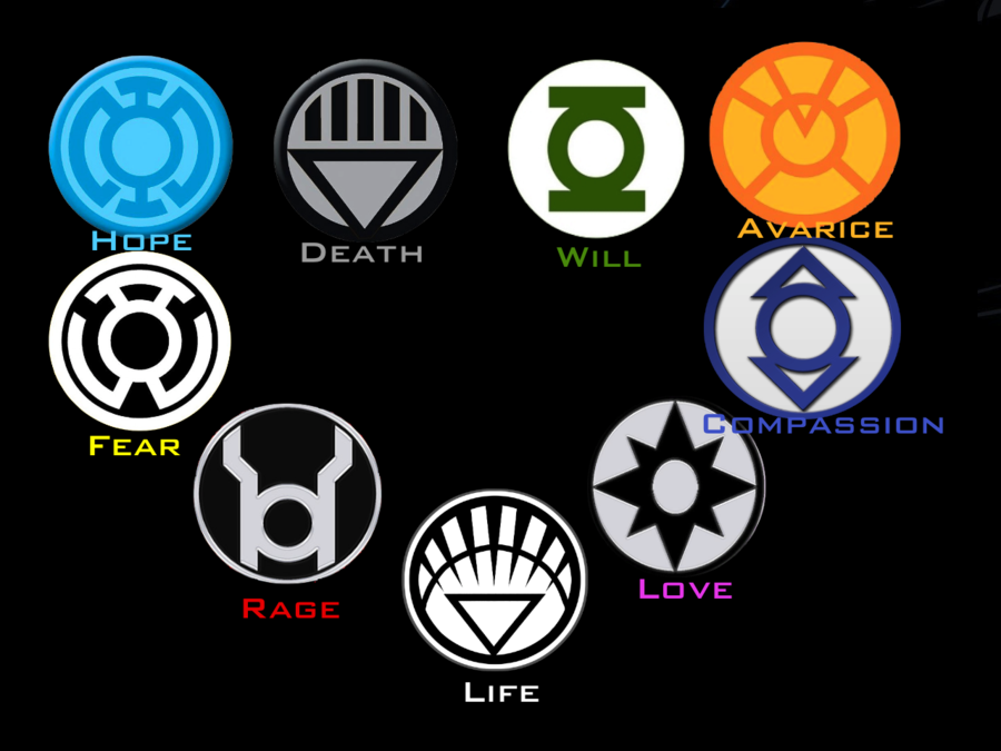 DC Lantern Corps Wallpaper by BobTheEgg 900x675