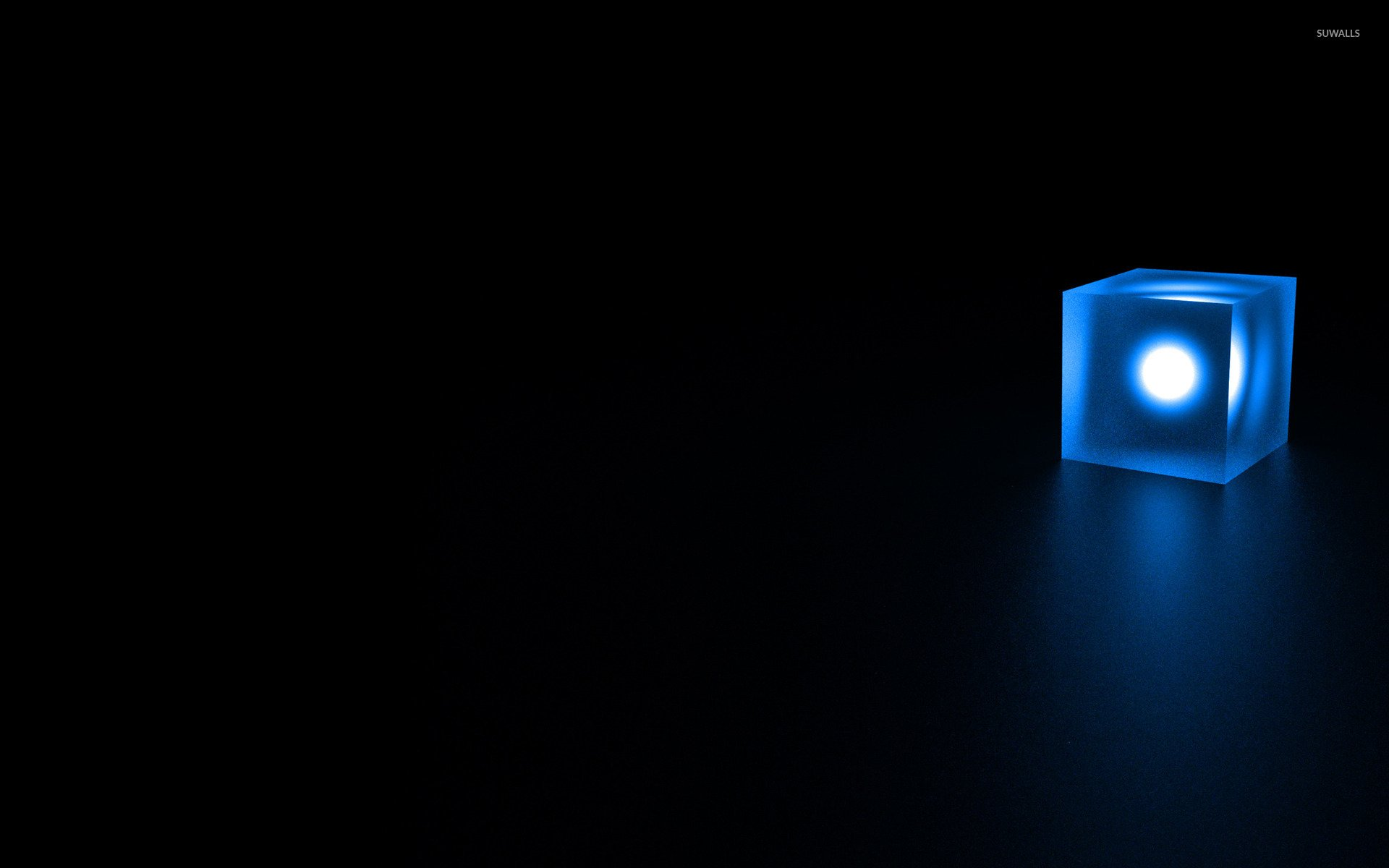 Glowing cube wallpaper   3D wallpapers   15699 1920x1200