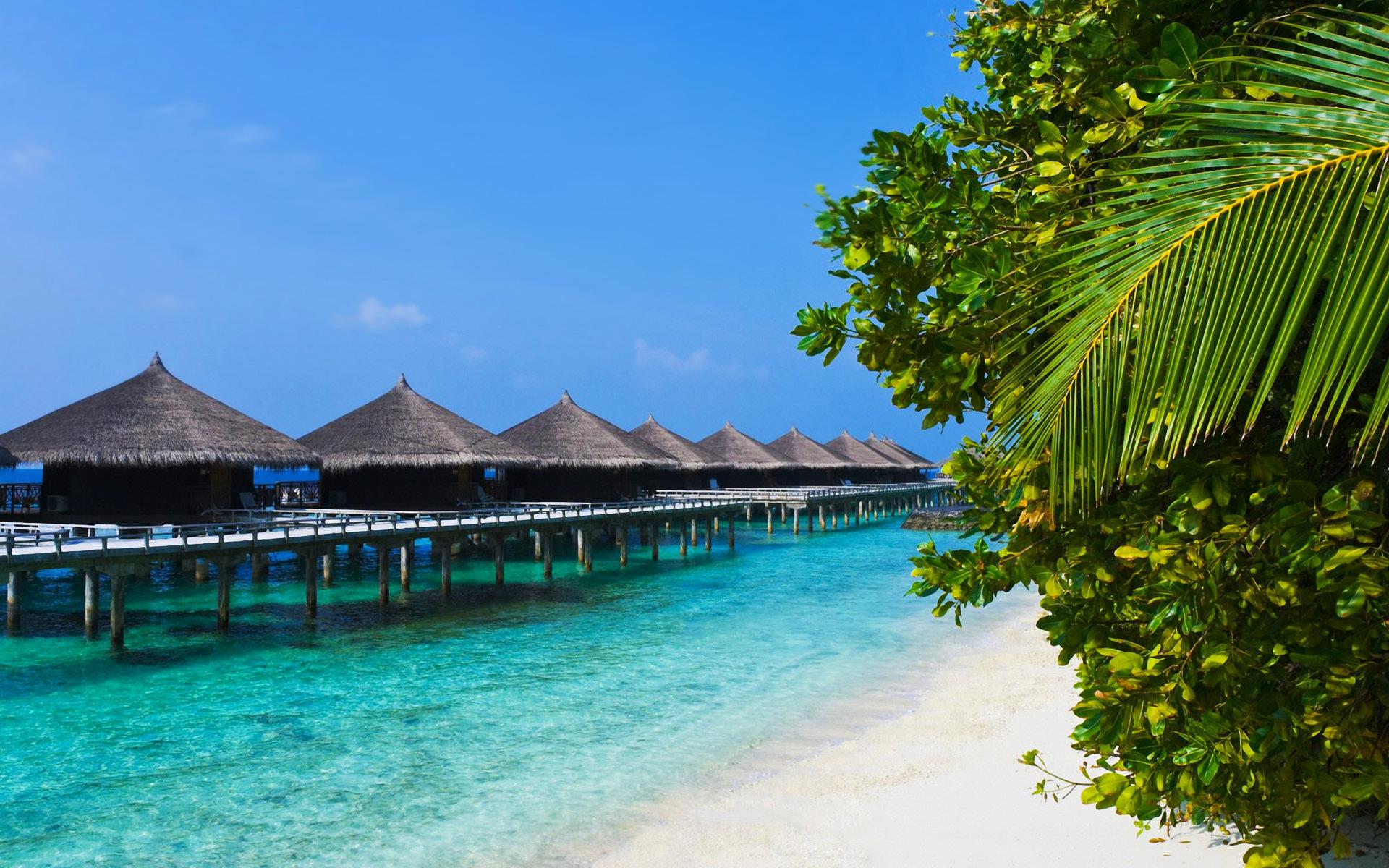 Tropical Beach Desktop Backgrounds HD wallpaper background