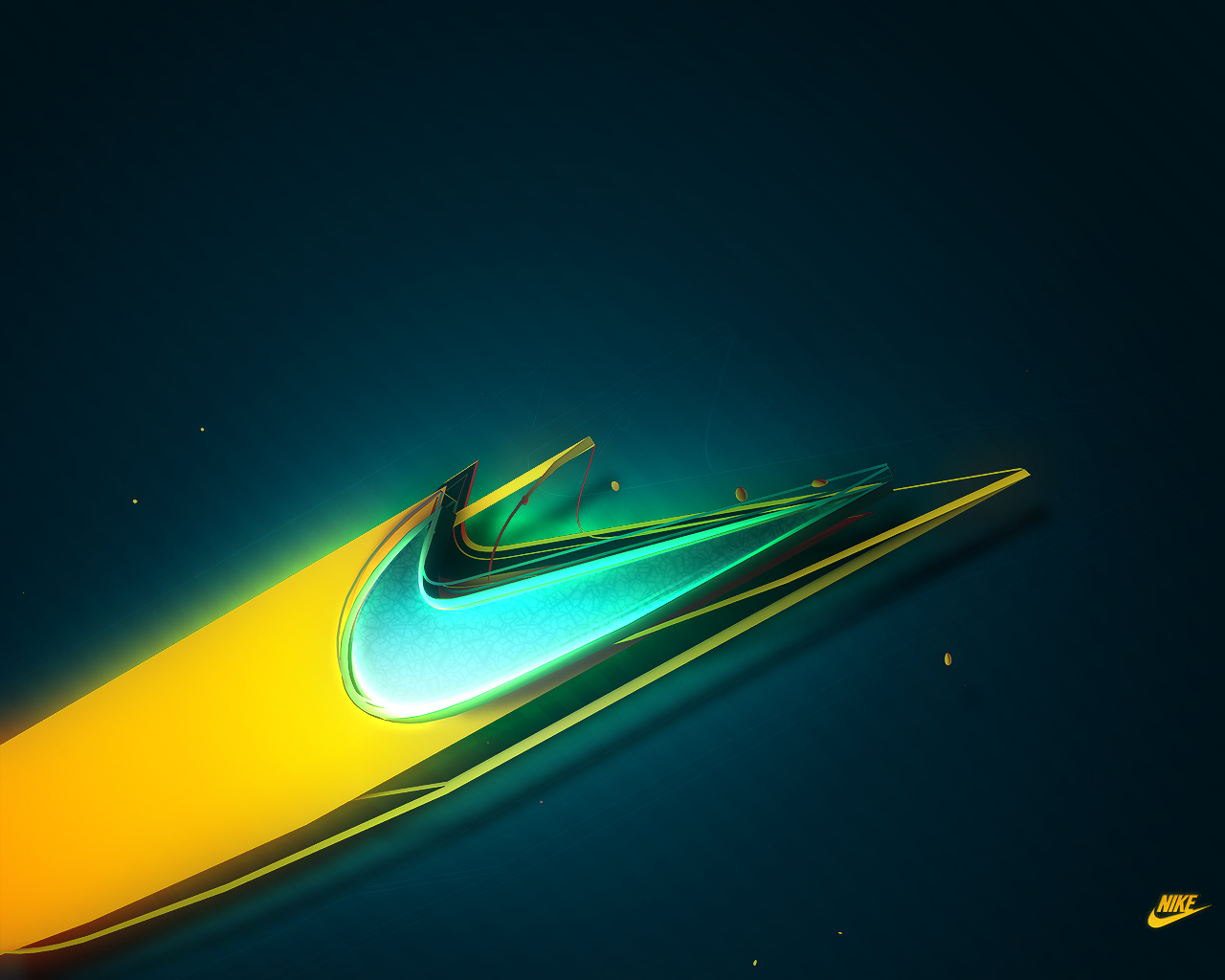 blue nike wallpaper 1280x1024