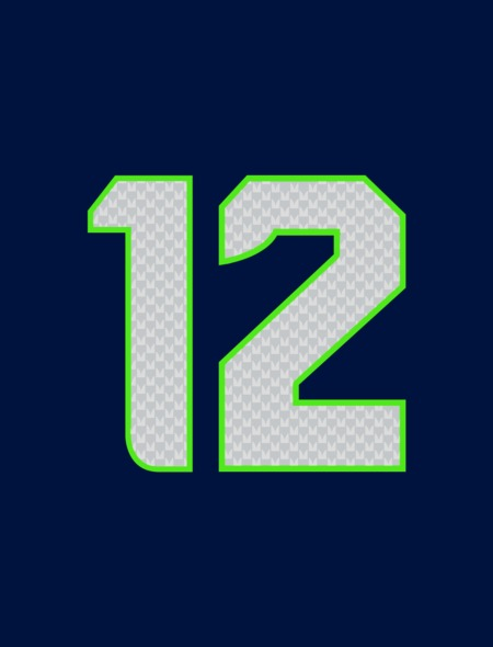 12th Man Seahawks Wallpaper for iPhone 5 450x590