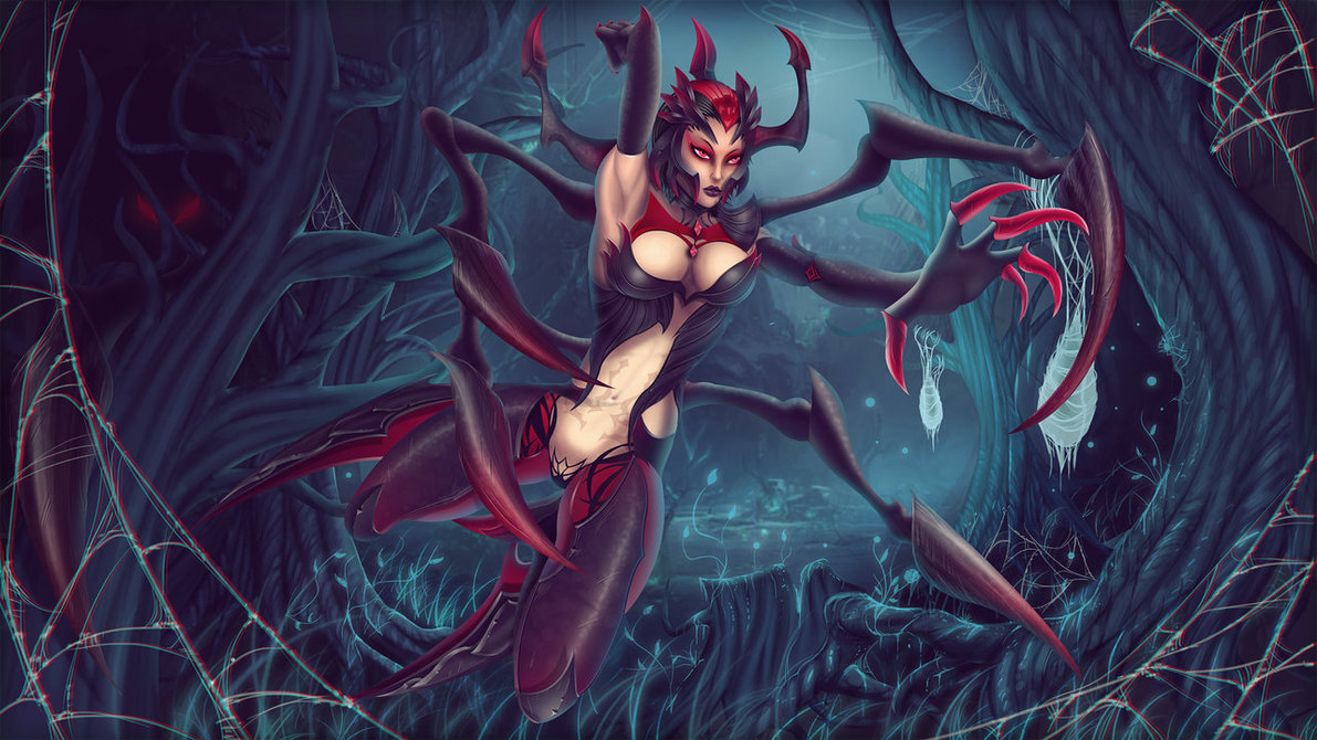 Elise The Spider Queen by BenJi XD 1191x670