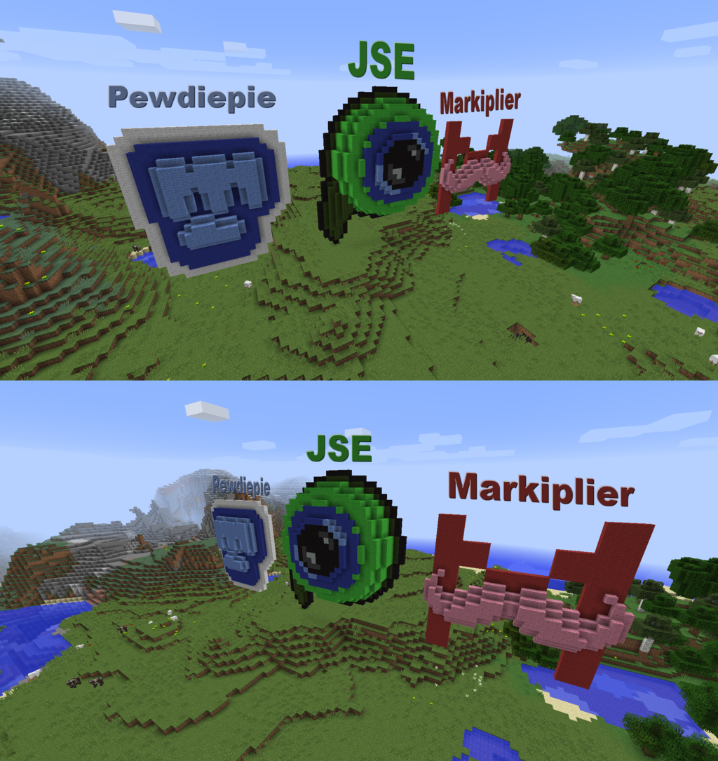 Best 55 Minecraft YouTuber Wallpaper on HipWallpaper Awesome 1024x1085