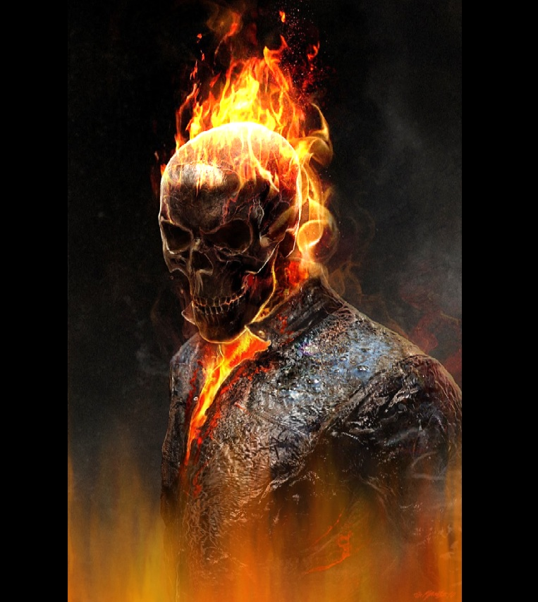 Ghost Rider Screensaver   Animated Wallpaper Torrent Downloads 763x854