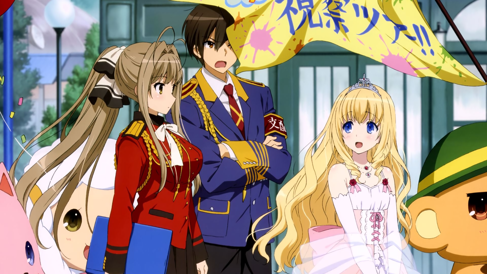 42 Amagi Brilliant Park HD Wallpapers Background Images 1920x1080
