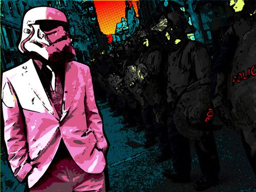 Download Dope Trooper wallpapers to your cell phone   color cool dope 510x383