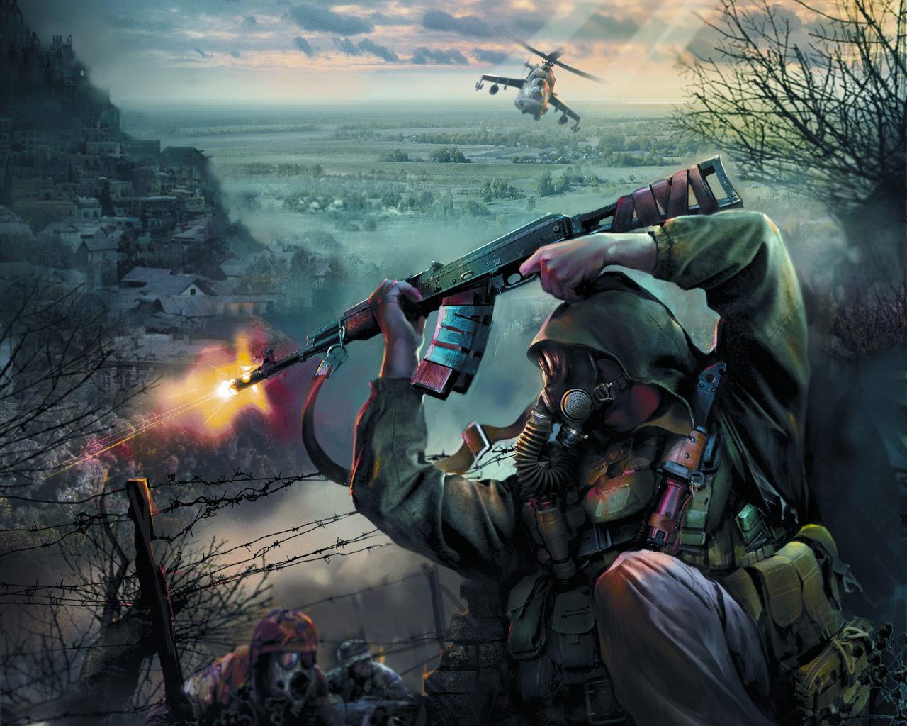 Badass Wallpapers War 1280x1024