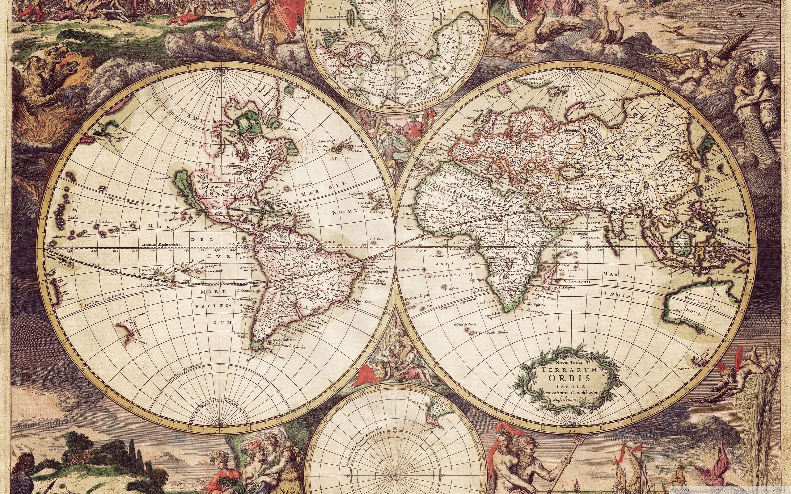 Old Earth Map HD Desktop Wallpaper Widescreen High Definition 2560x1600