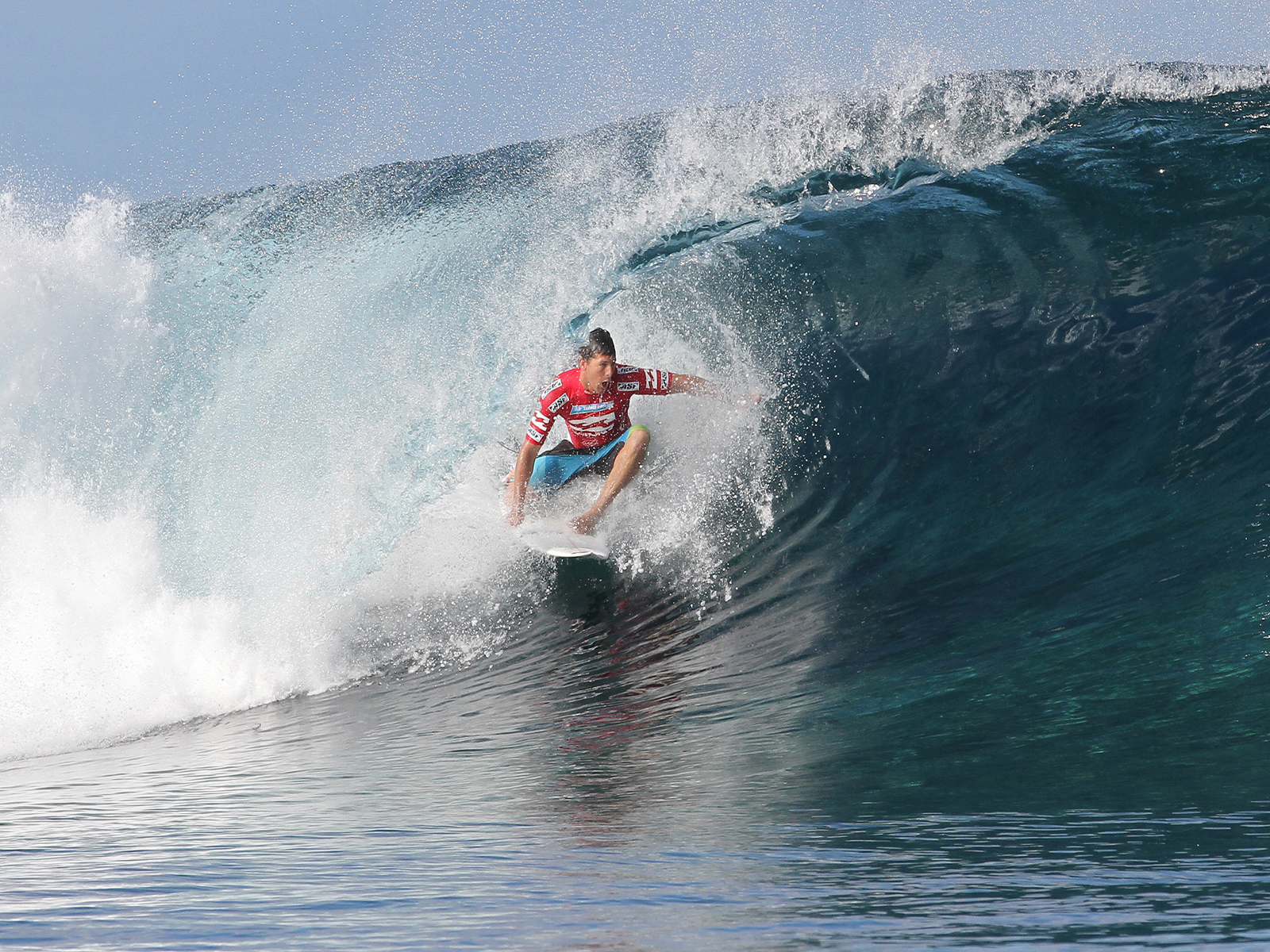 desktop wallpaper of Surfing Great Andy Irons Andy Irons 1600x1200