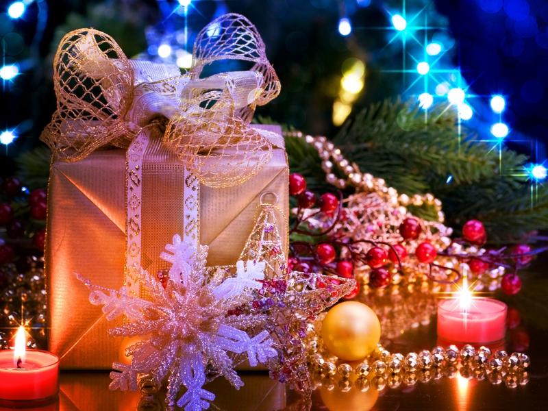 Pretty Christmas Wallpapers - WallpaperSafari