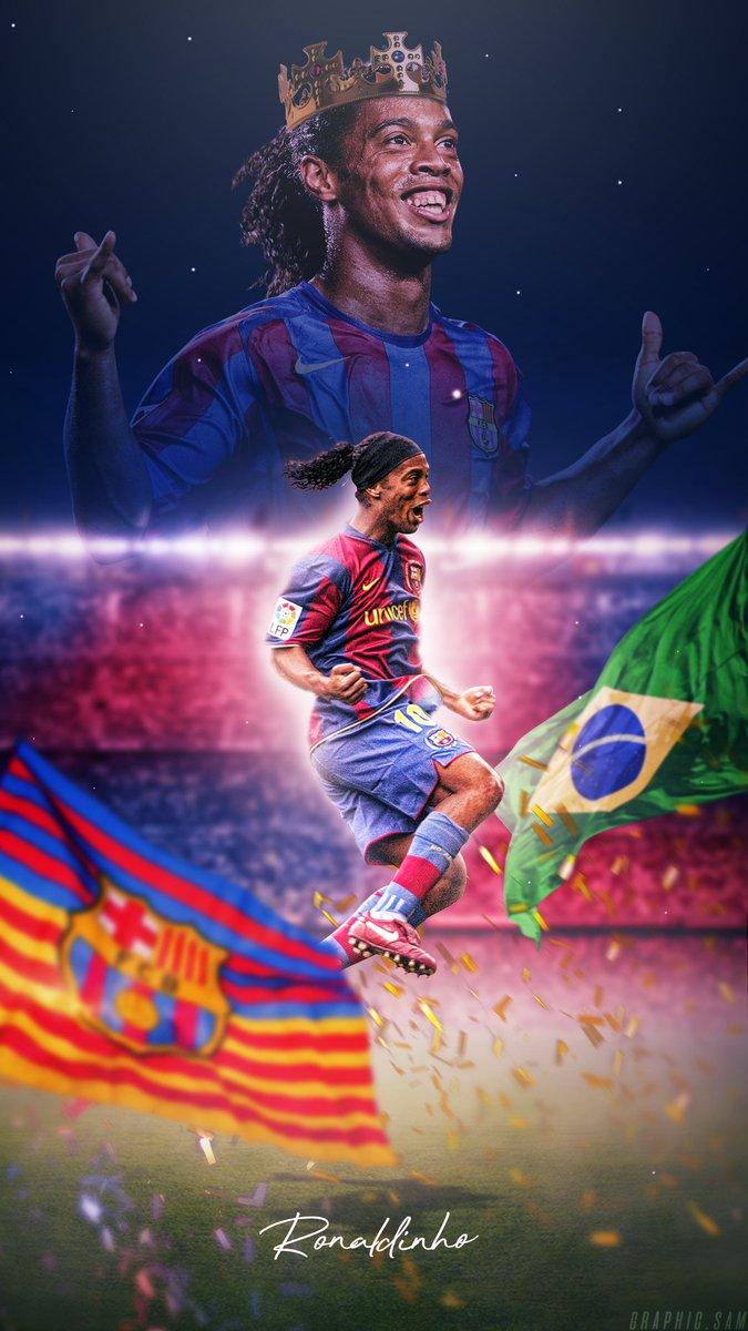 GraphicSam on Twitter Ronaldinho Wallpaper Retweets Greatly 675x1200