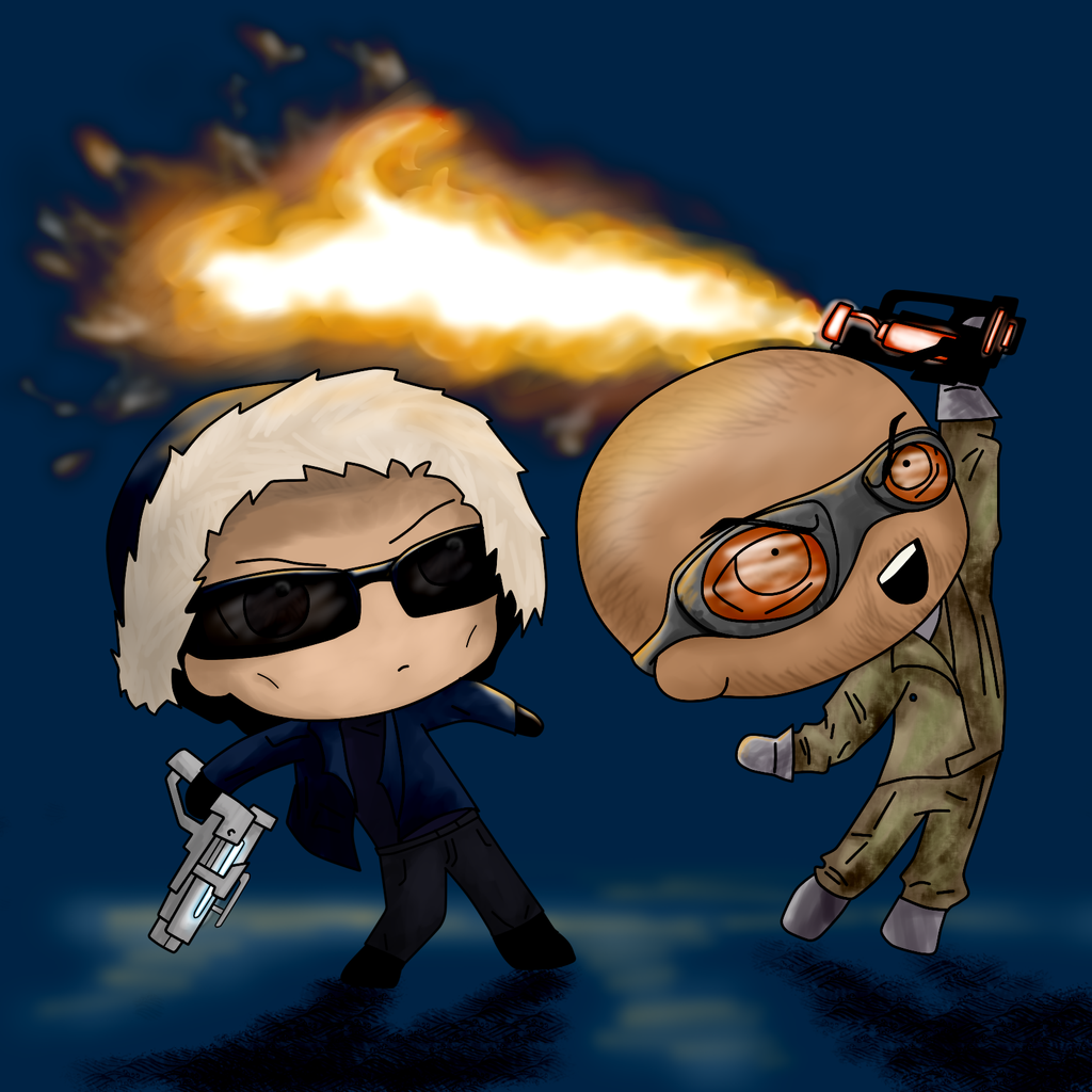 CW Captain Cold and Heatwave by BIazeRod 1024x1024