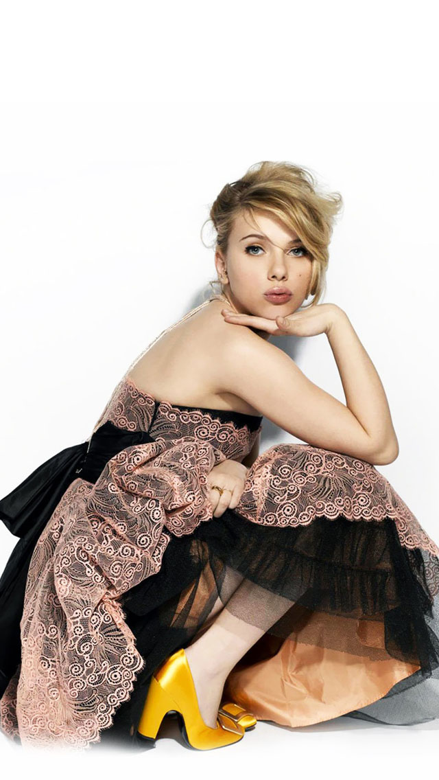 scarlett johansson iphone wallpaper wallpapersafari
