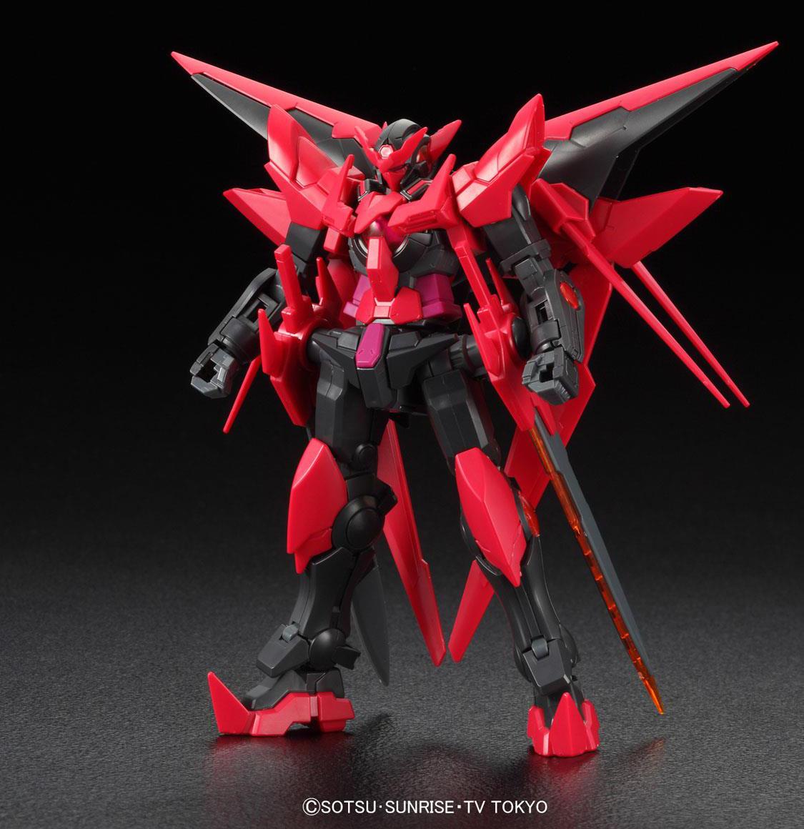 HGBF 1144 Gundam Exia Dark Matter UPDATE Big or Wallpaper Size 1125x1160
