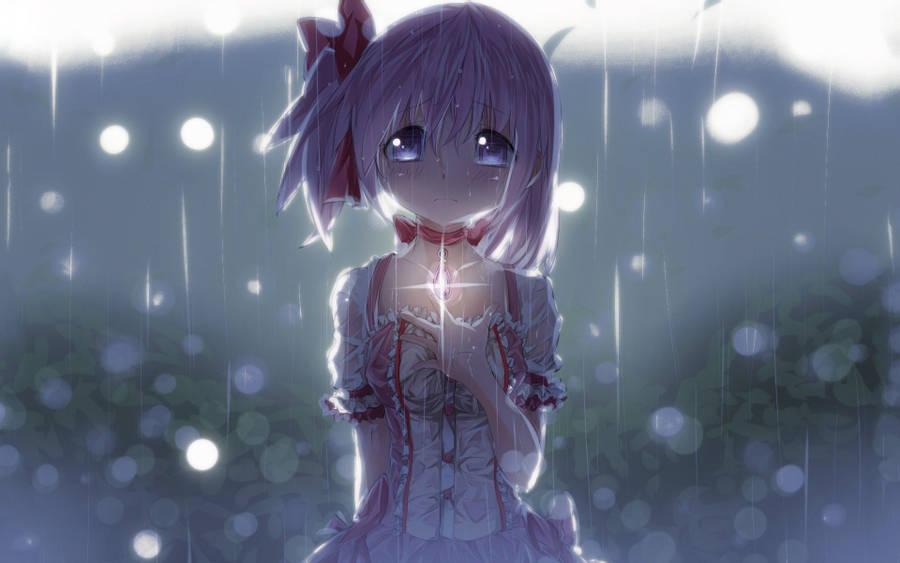 Download Sad Anime Girl Sparkle Wallpaper Wallpaperscom 900x563