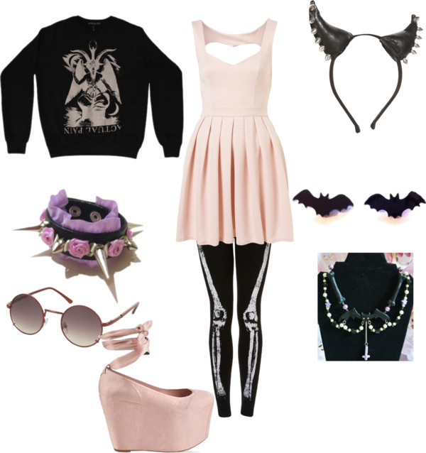 Pastel Goth Outfits 600x638