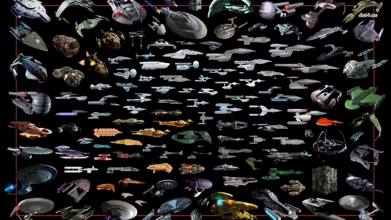 Star Trek ships wallpaper   Movie wallpapers   17312 1366x768