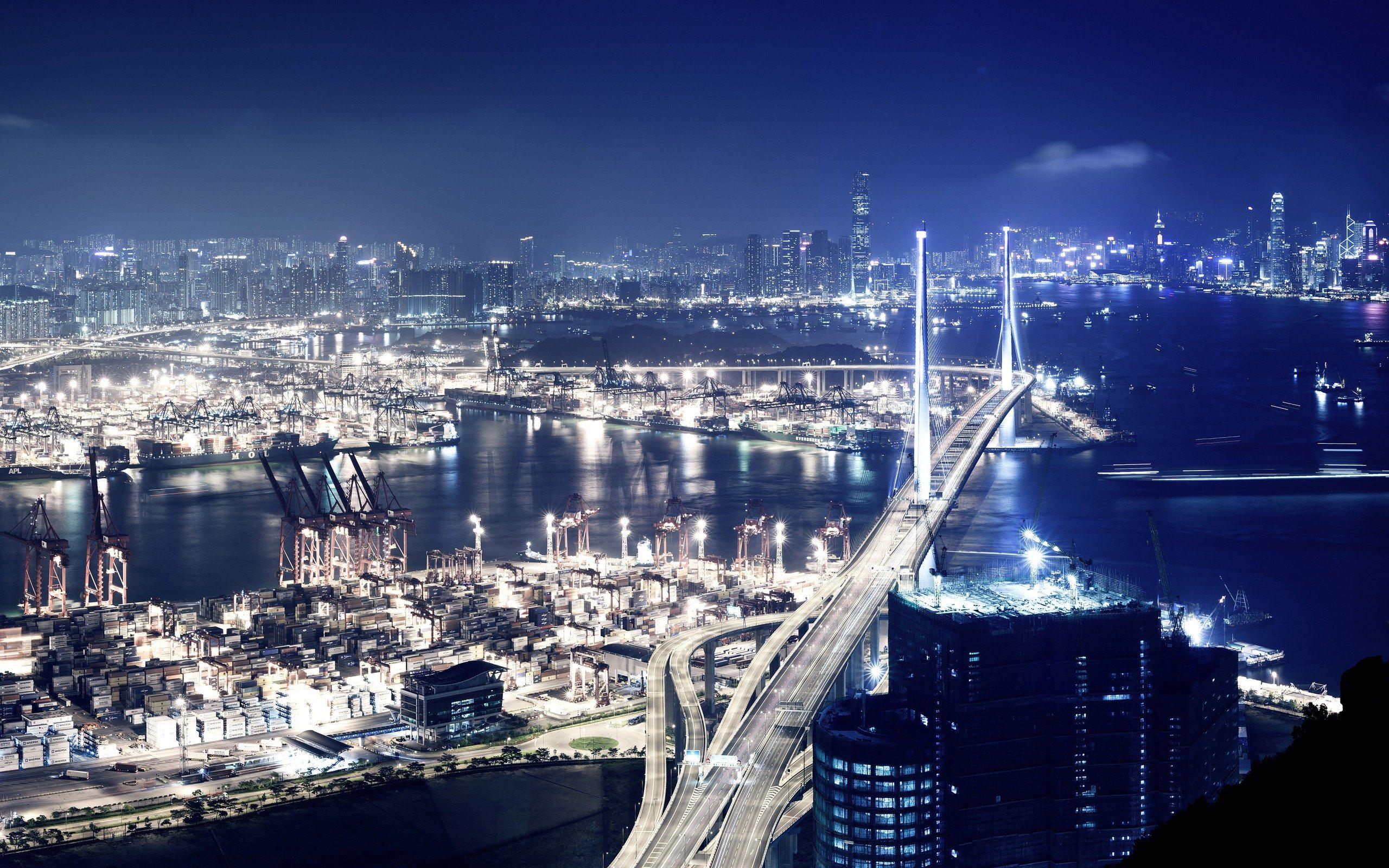 Cool City Panorama HD Wallpaper 2560x1600