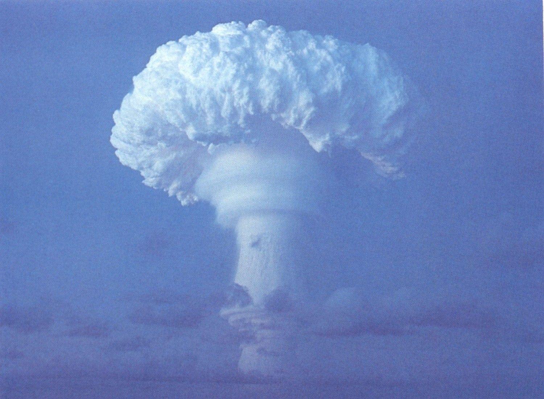 Mushroom Cloud Wallpaper - WallpaperSafari