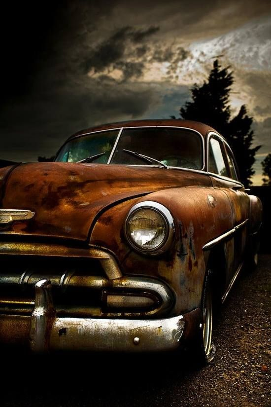 rusty chevy | Rustic Beauty and Abandoned Dreams | Pinterest