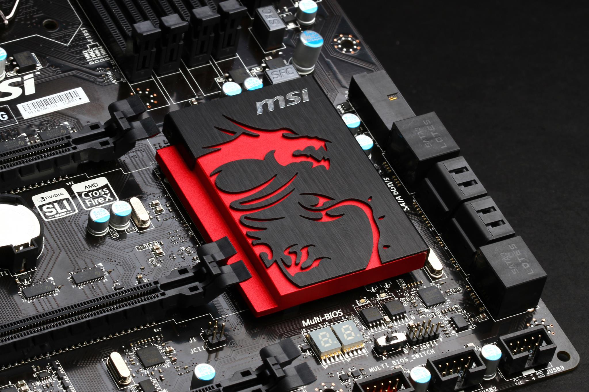 The MSI Z77A GD65 Gaming would be showcased by MSI at CeBIT in all its 2048x1365