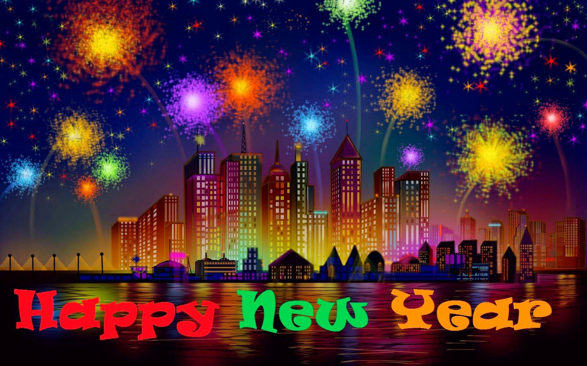new years desktop free wallpaper