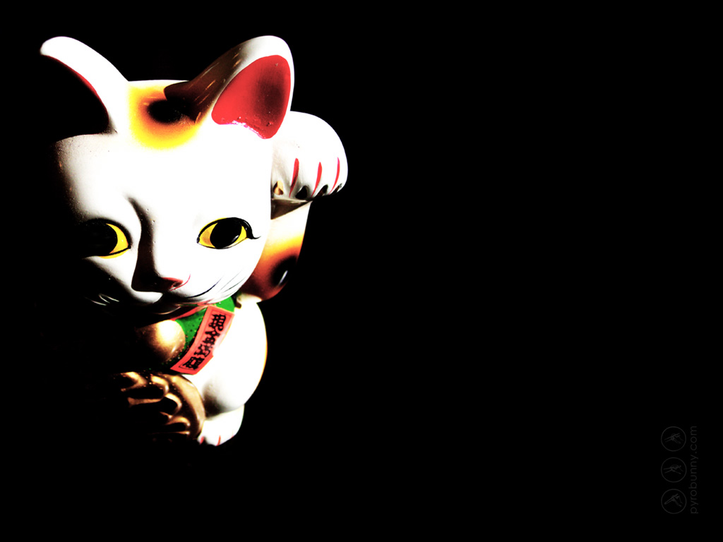 Displaying 18 Images For   Maneki Neko Wallpaper 1024x768