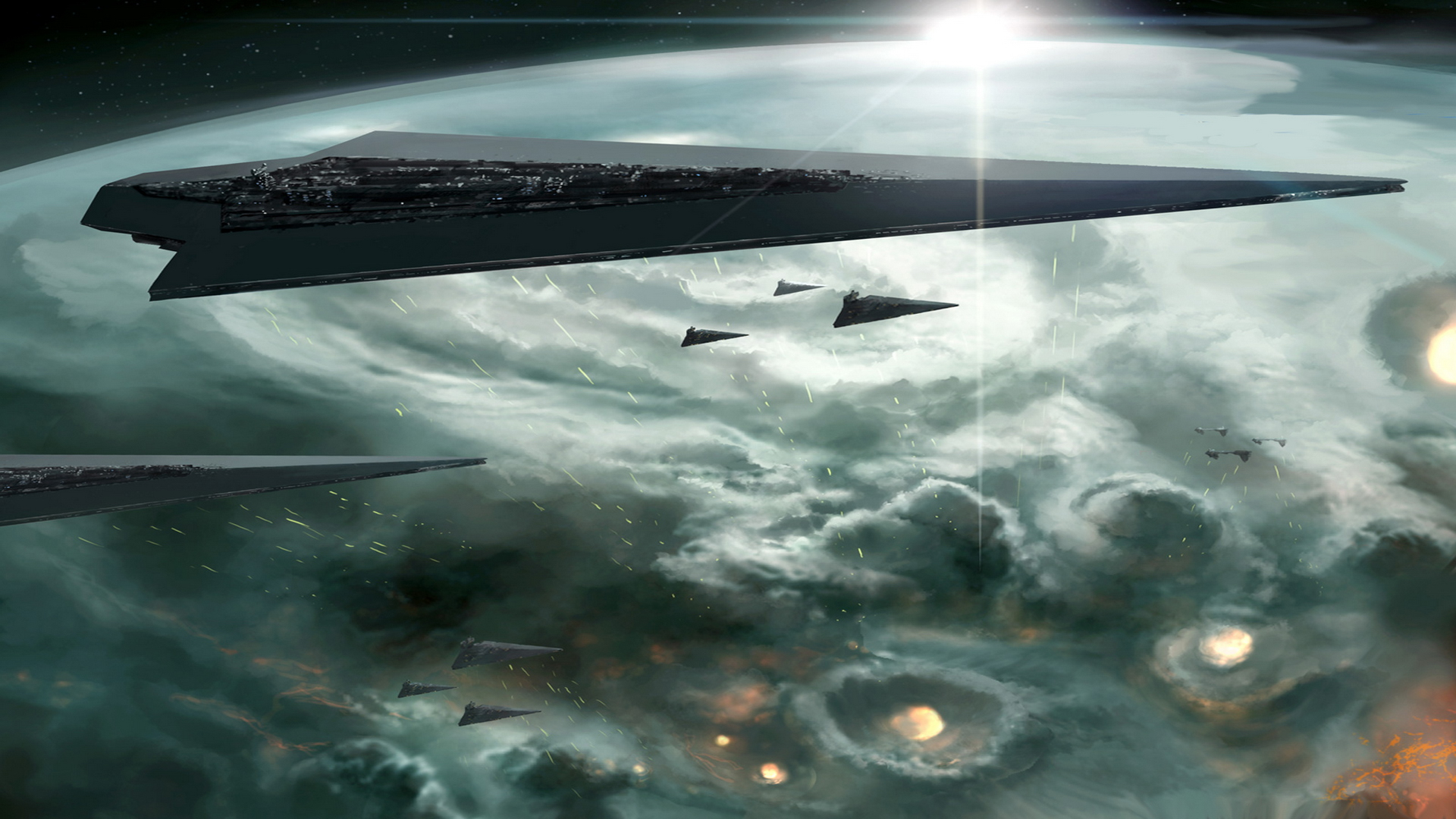 super star destroyer wallpaper