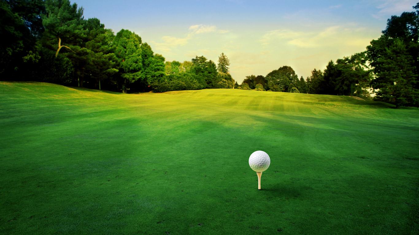 Golf Macro Wallpaper HD 5743 Wallpaper High Resolution Wallarthd 1366x768