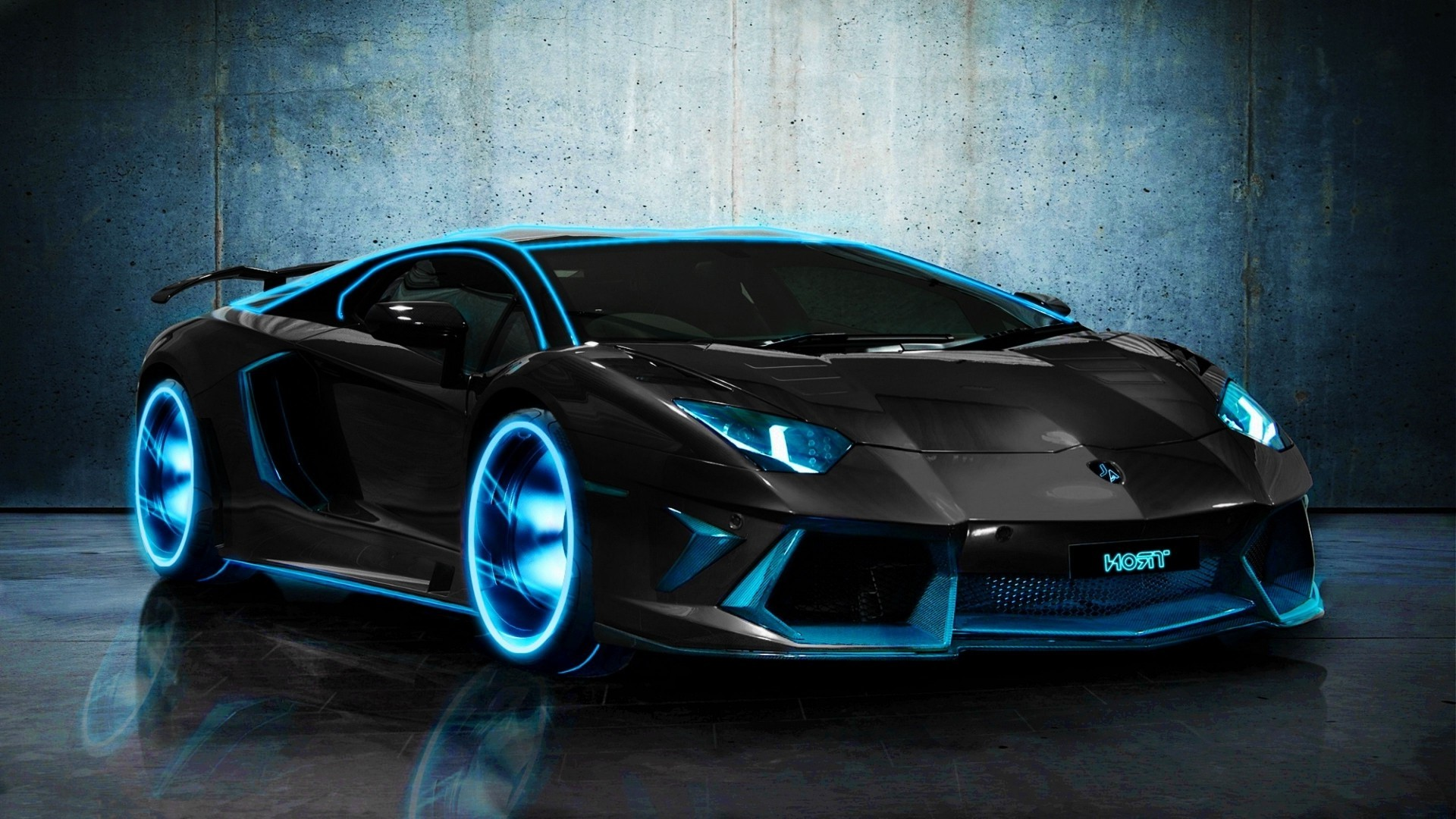 HD TRON Lamborghini Aventador Wallpapers HD Wallpaper WallWuzz 1920x1080