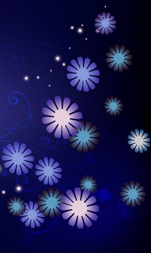 Pretty Flowers Live Wallpaper App for Android 307x512