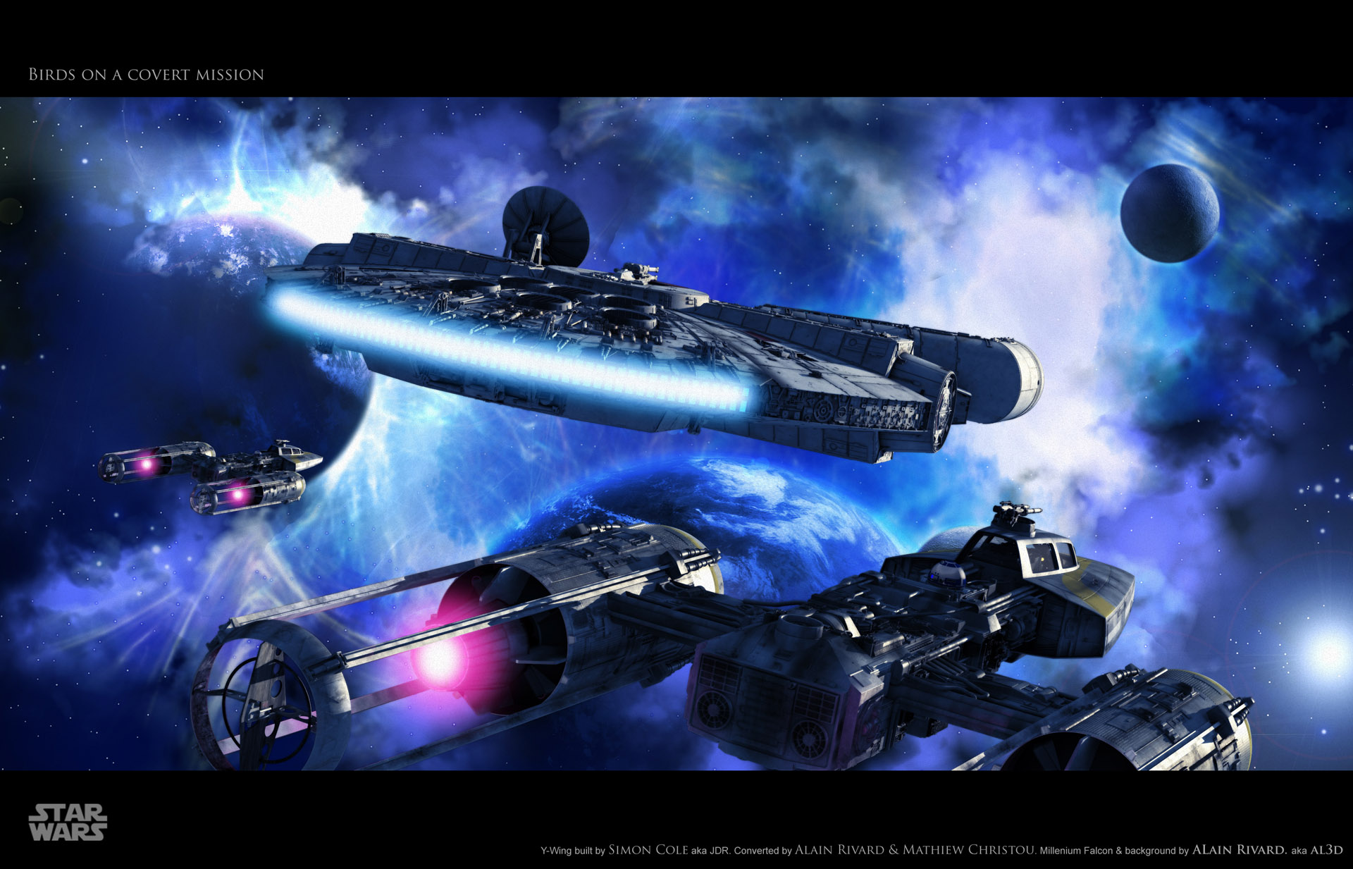 millennium falcon star wars wallpaper share this awesome star wars 1920x1233