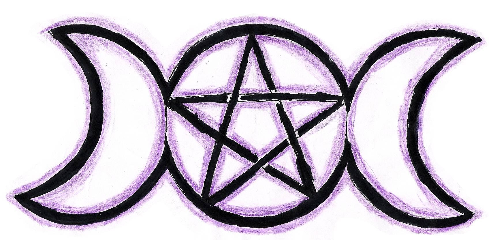 Wiccan Pentagram Goddesses pentagram by 1710x832