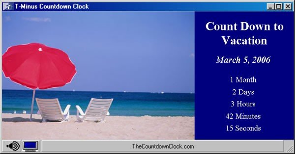 Minus Vacation Countdown 60   T Minus Vacation Countdown Clock 600x314
