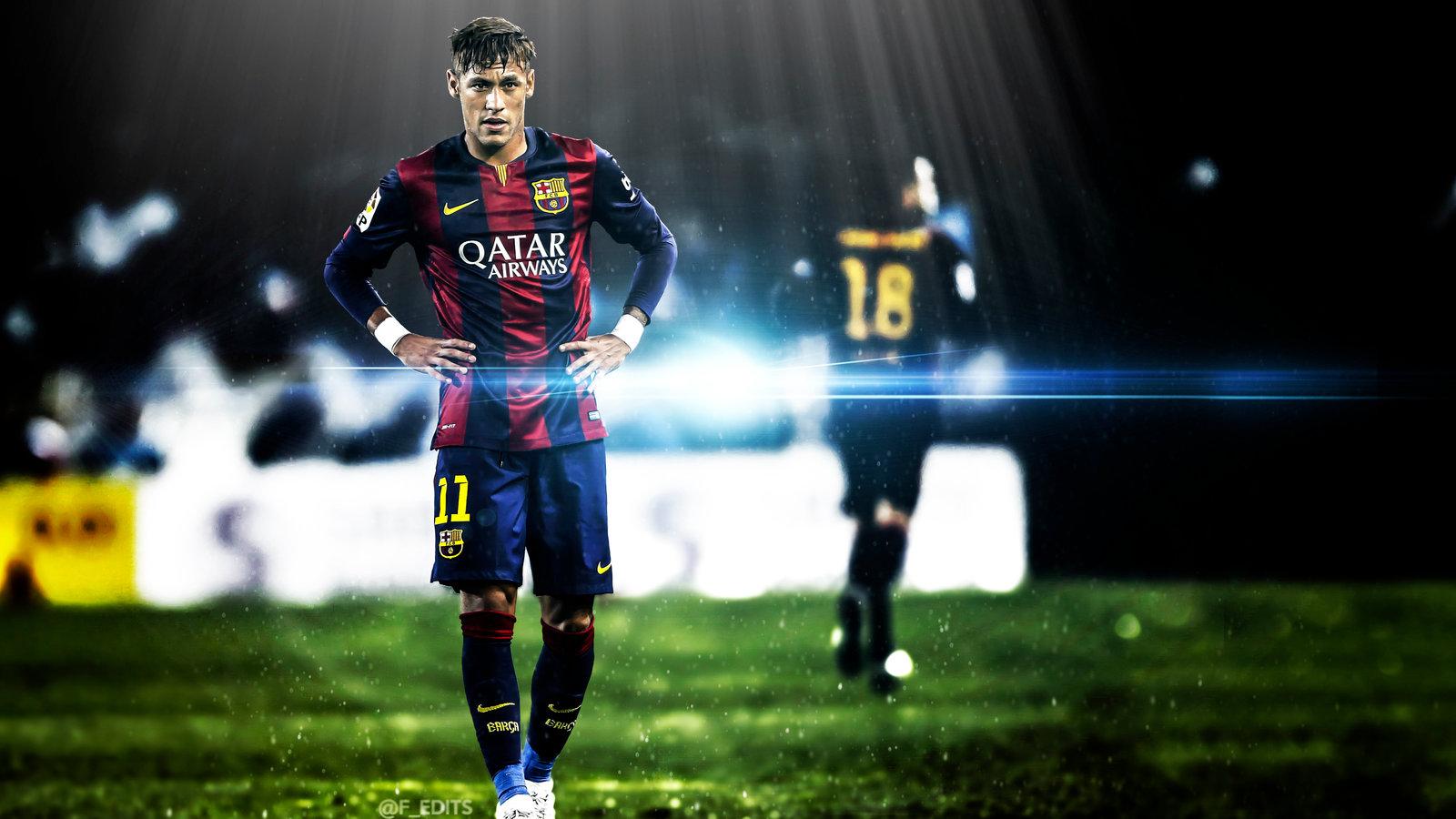 Hd wallpaper neymar - Barcelona S Neymar Jr Hd Wallpaper By F Edits By F Edits On
