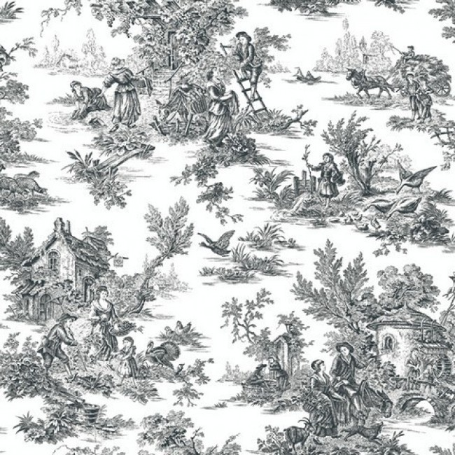 1800 S Colonial Scene On Demand: Colonial Wallpaper Patterns