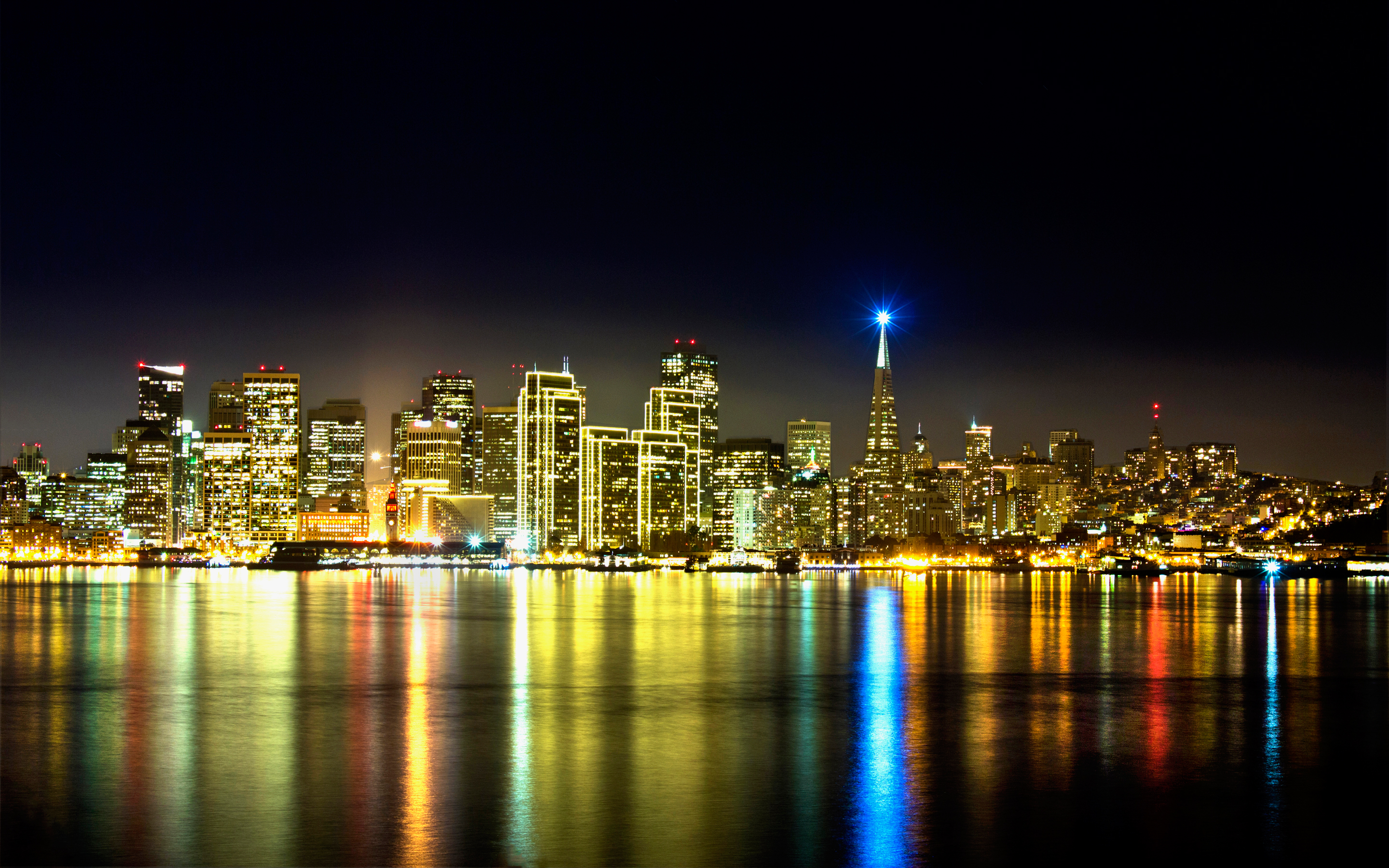 San Francisco Skyline Wallpapers HD Wallpapers 2880x1800