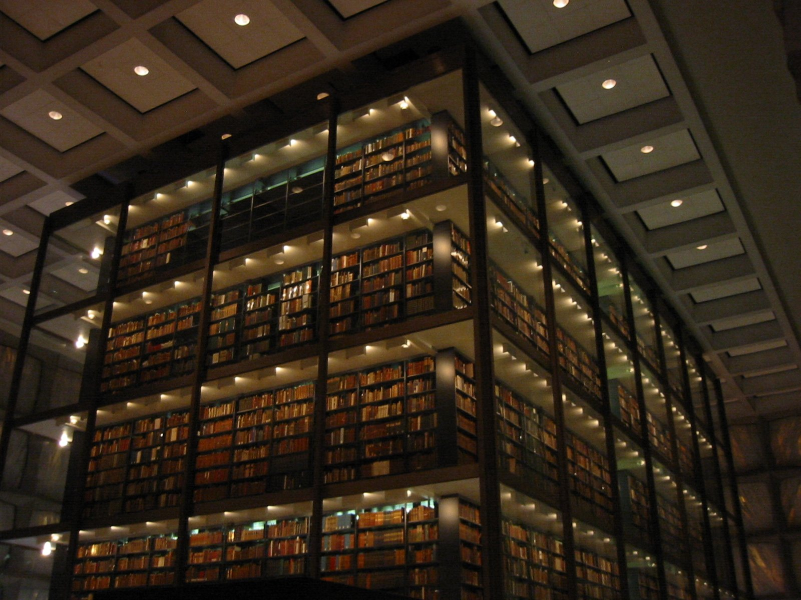 FileBeinecke Library interior 2JPG   Wikimedia Commons 1600x1200