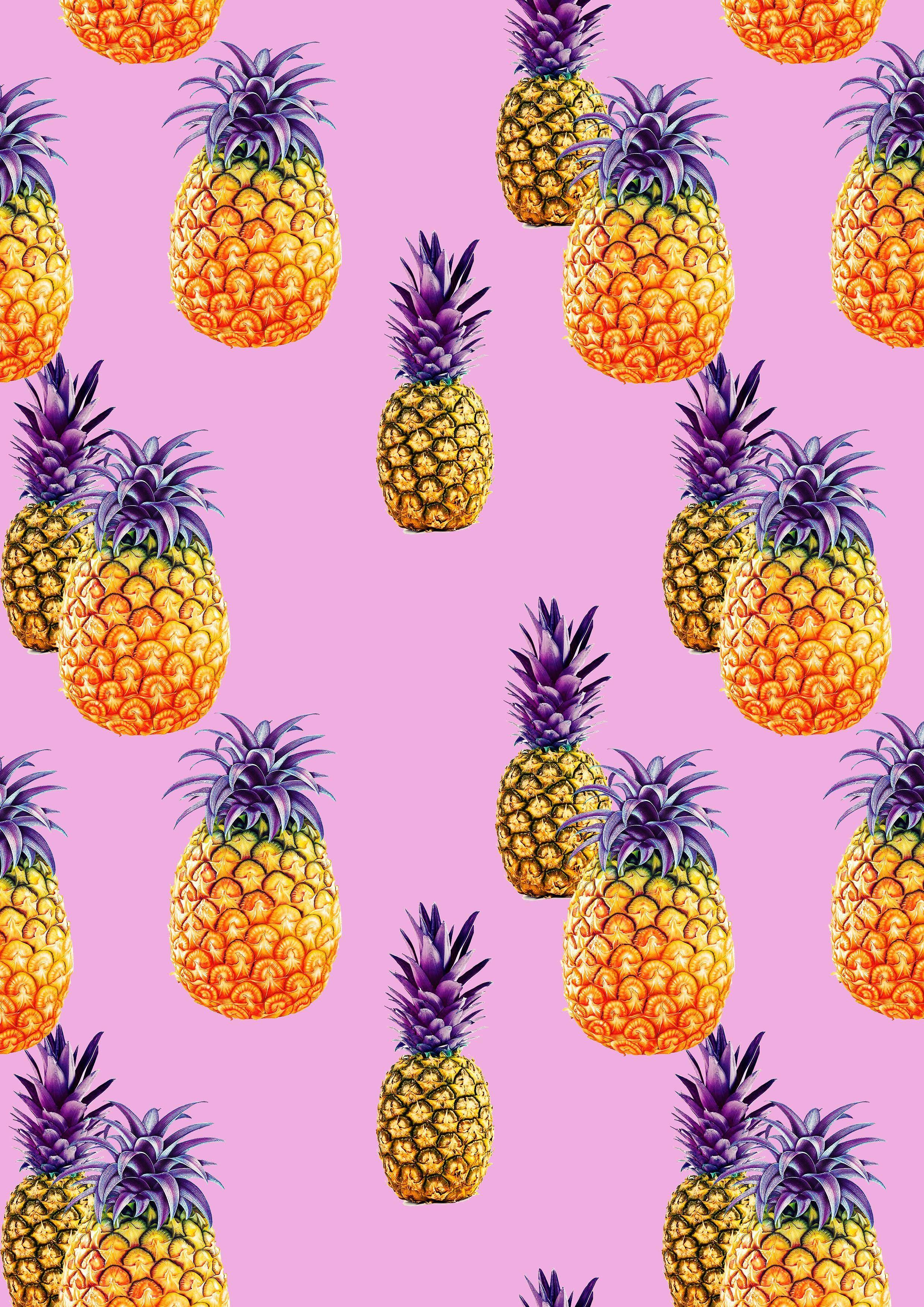 Картинка маленькие ананасы