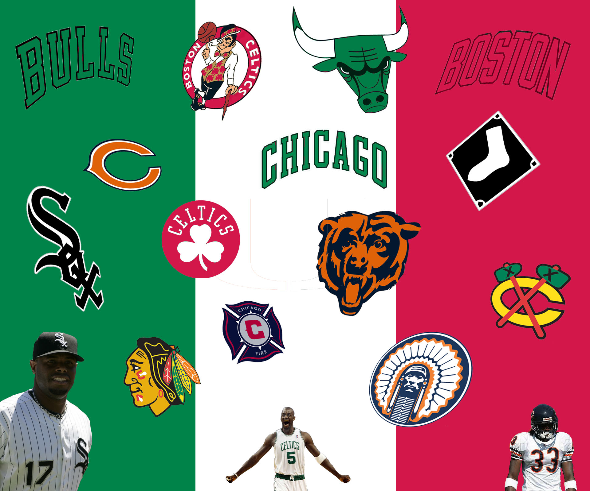 Chicago Sports Wallpapers: Chicago Flag Wallpaper