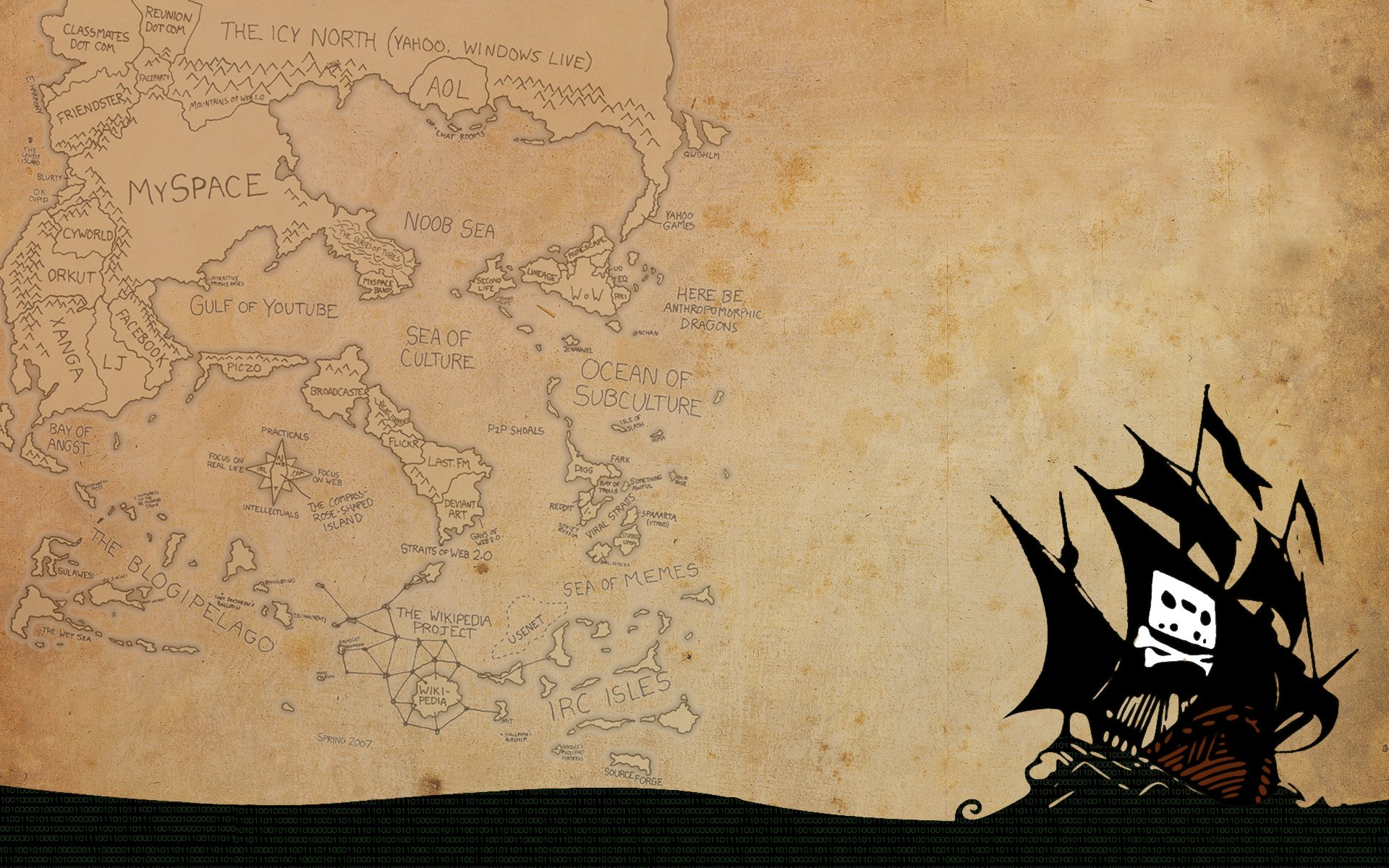 Pirate Bay Wallpapers, The Pirate Bay Myspace Backgrounds, The Pirate ...