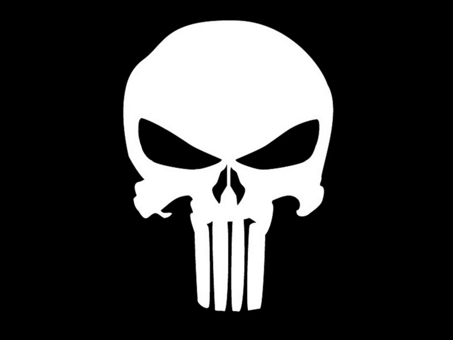httpkryptoknight 85deviantartcomartThe Punisher Skull 272582261 900x675