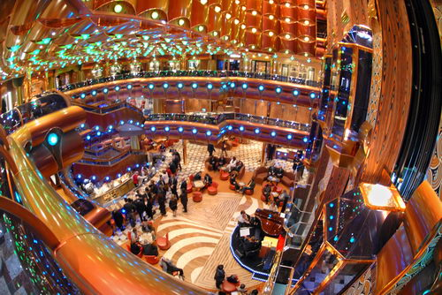 Carnival Freedom Cruise Ship Picture   Carnival Freedom Atrium Photo 500x334