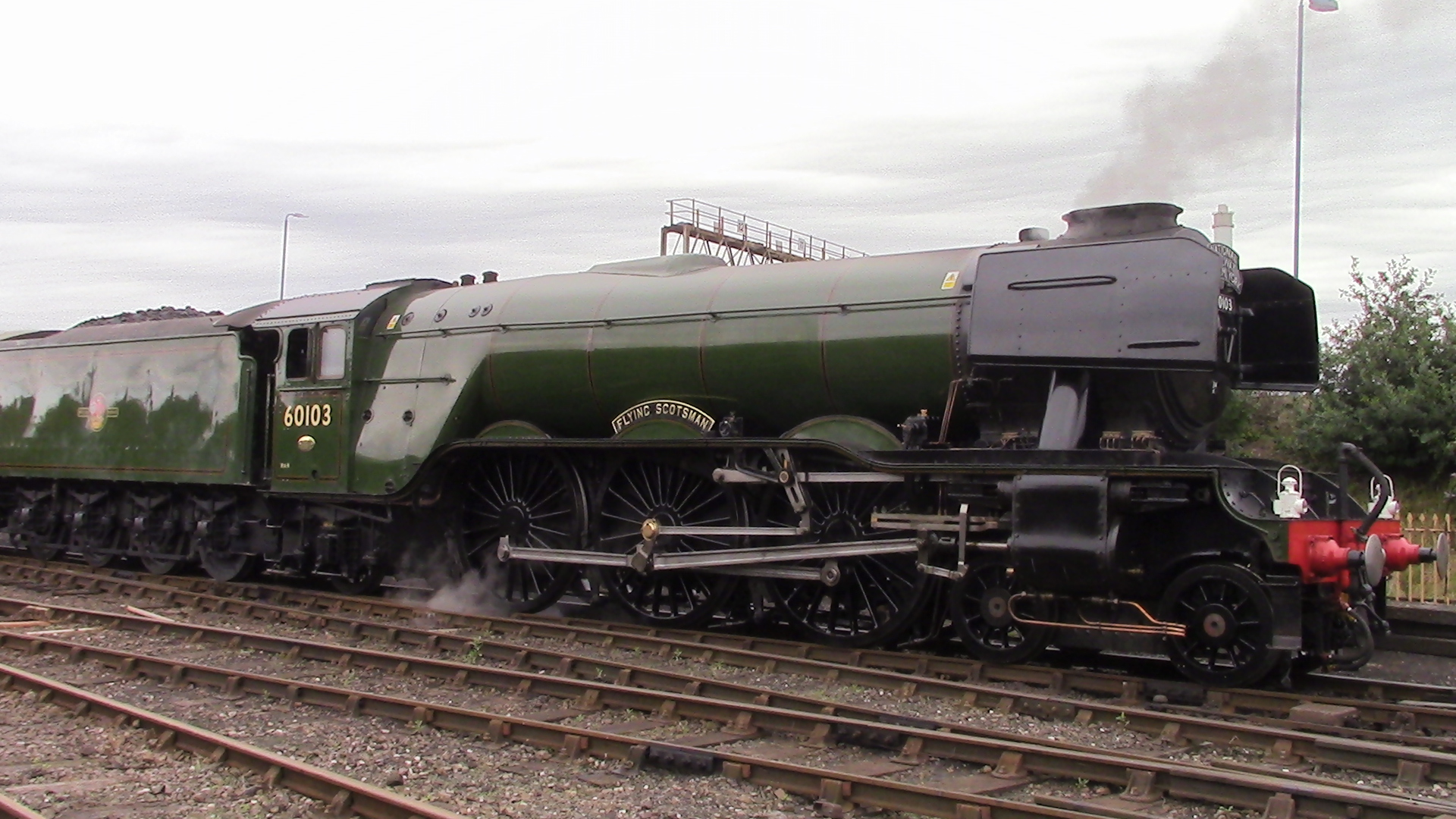 The Flying Scotsman and a first Visit to Tyseley John Ds 1920x1080