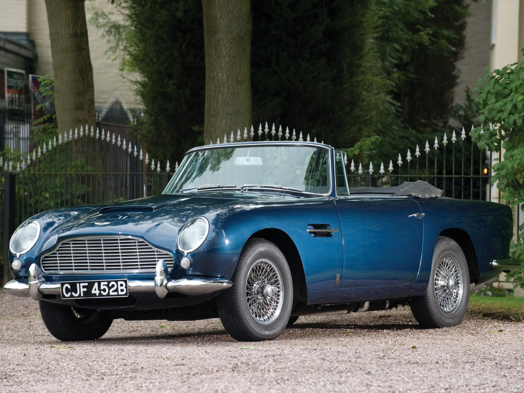 Aston Martin DB5 Volante 19631965 wallpaper 2048x1536